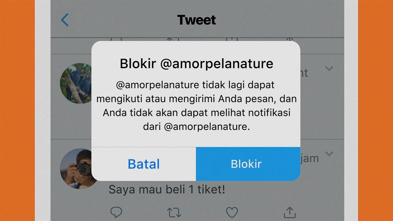 Cara Mudah Memblokir Akun Di Twitter Dan Unblok Kembali