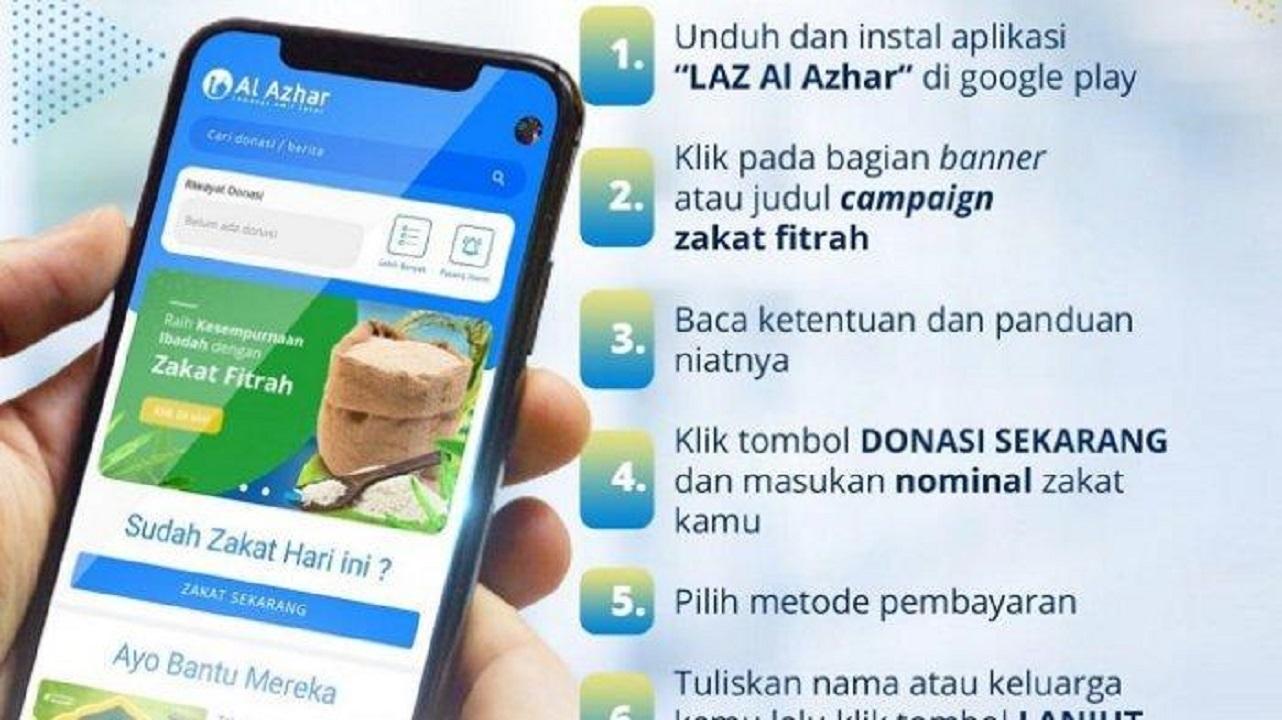 LAZ Al Azhar Donasi Serentak di paltform Digital 2021